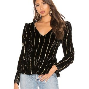 NWT L'Academie The Jackie Blouse
